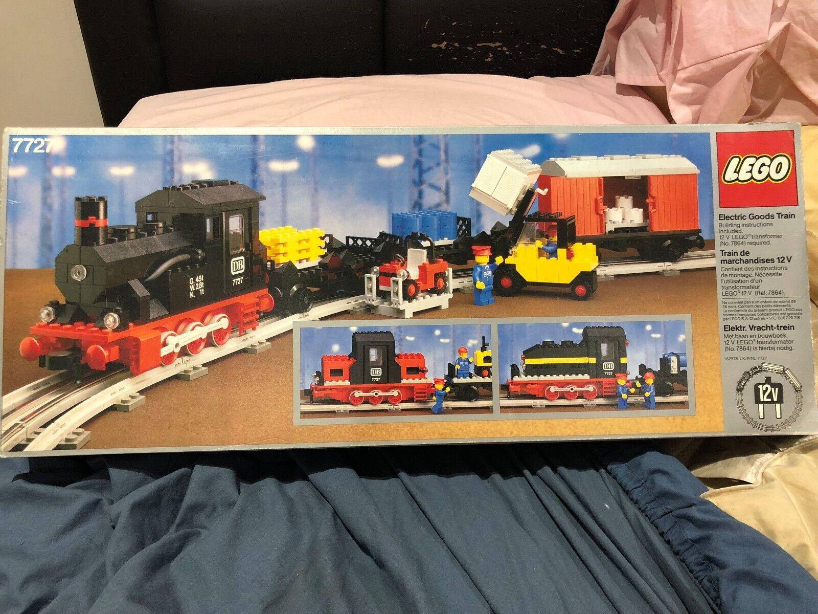 Brand Nuovo Nuovo Nuovo 7727 Lego Train Set- Never been