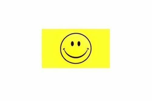 Smiley Face Replacement Flag ATV Bicycle Rhino UTV NEW 5 pk