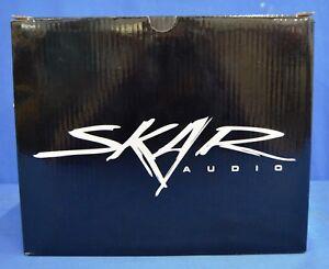 "NEW SKAR AUDIO VD-8 D2 8/"" DUAL 2 OHM 600W MAX POWER SHALLOW MOUNT CAR SUBWOOFER"