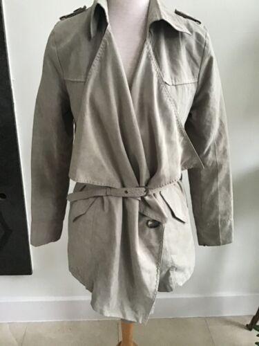 Alexander McQueen jacket with belt. M.