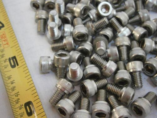 Cap Screws 10//32 x 5//16 Socket Head Stainless Steel Lot of 30 #3536