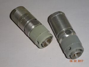 RFT-FWB-Stecker-NF-codiert-RFT-Funkwerk-Koepenick-2-Stueck