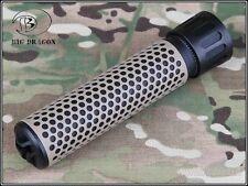 BIG DRAGON KAC Style QDC Quick Detach Suppressor Tan BD0542 Airsoft Softair M4