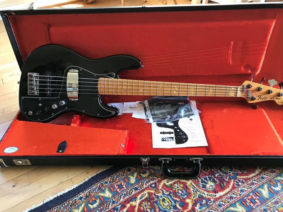 Elbas, Fender (US) Marcus Miller signatur Jazz Bas 5