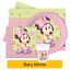 Disney-BABY-MINNIE-Mouse-Birthday-Party-Range-Tableware-Supplies-Decorations thumbnail 1