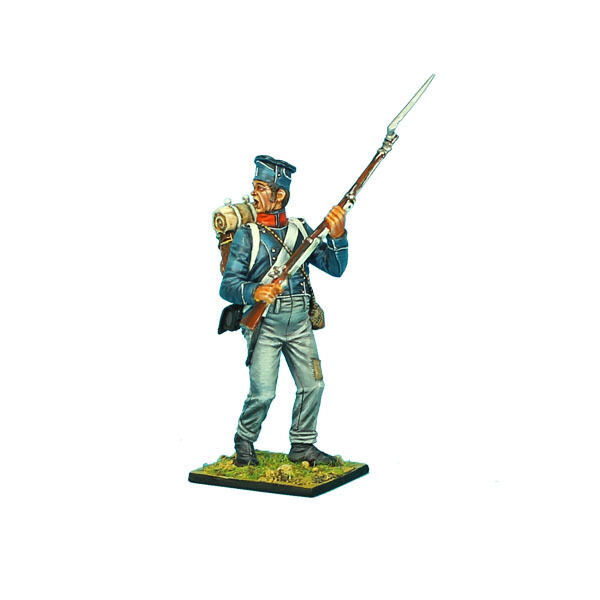NAP0374 French 1st Light Infantry Overweight Chasseur Standing by First Legion