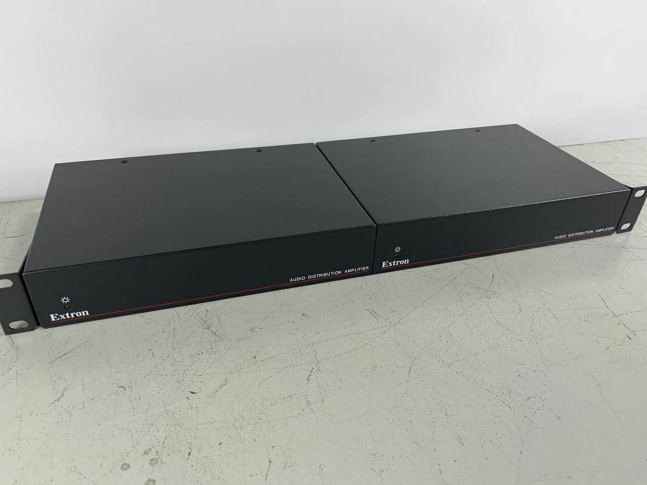 Used Pair of Extron DA 6A Audio Distribution Amplifiers