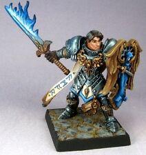 Almaran the Gold Paladin Reaper Miniatures Dark Heaven Legends Fighter Melee