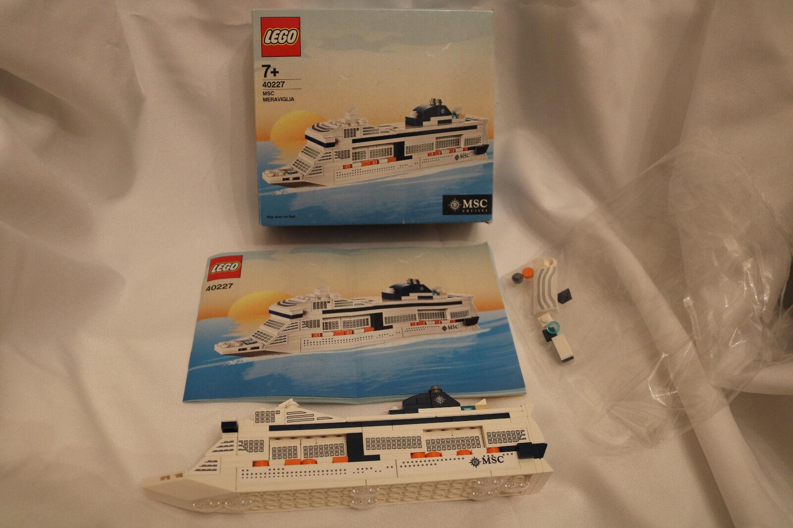 LEGO Miscellaneous 40227 MSC Meraviglia gebraucht mit OBA und OVP aufgerissen