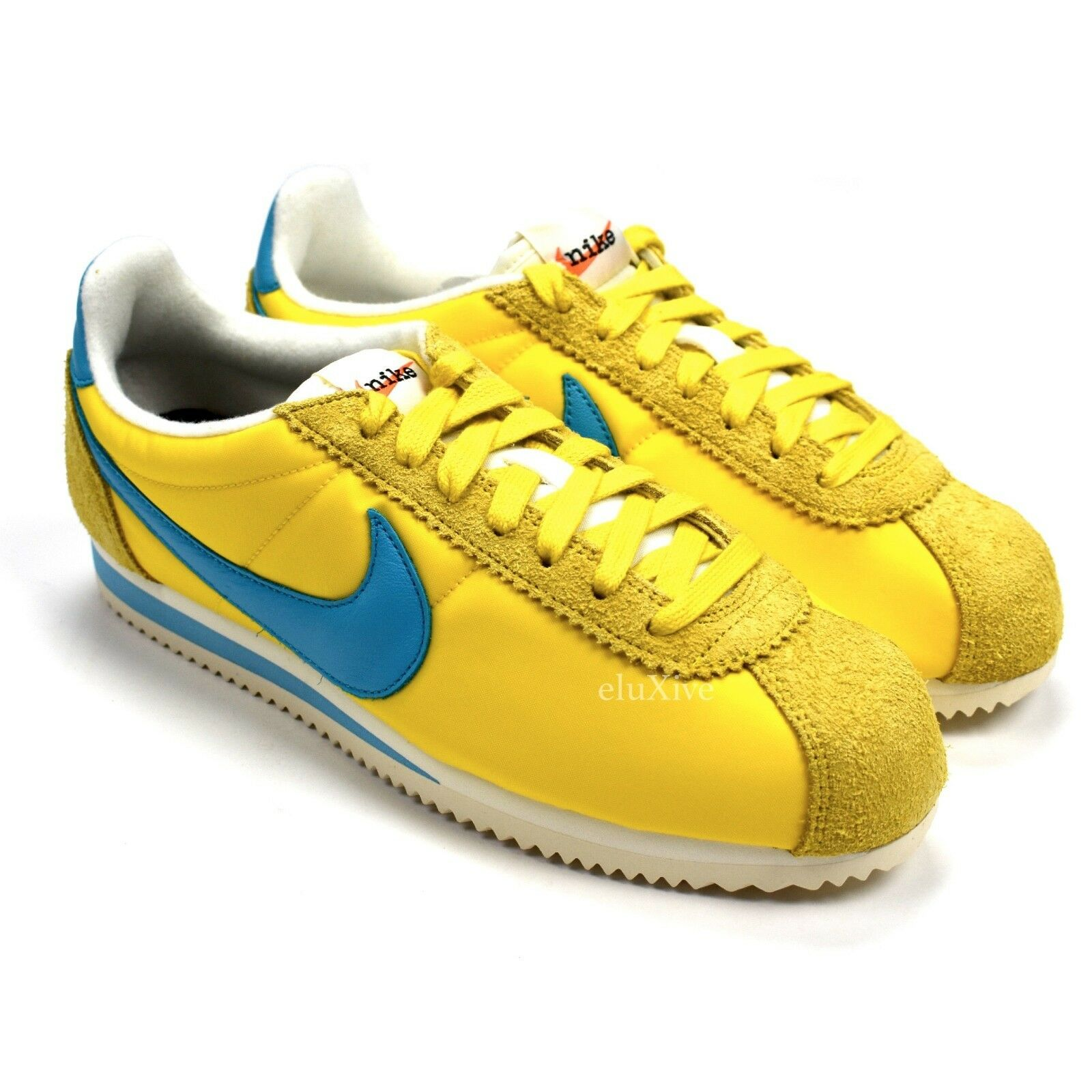 low priced 56b1e f4876 NWT Nike Classic Classic Classic Cortez Nylon KM QS Kenny Marathon Record  Tour Yellow AUTHENTIC 99a9b9