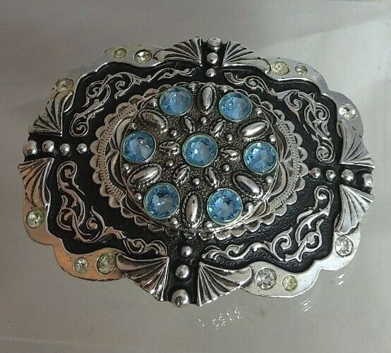REDUCED- STARS &STRIPES- Diamante/Crystal Buckle. New