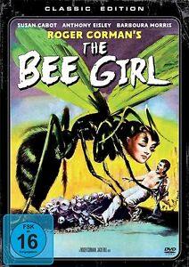 Roger-Corman-The-BEE-GIRL-The-Wasp-Woman-SUSAN-CABOT-DVD-neuf