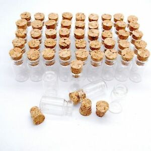 0-5-1-2-5ML-Mini-Small-Cork-Stopper-Glass-Vial-Jars-Containers-Bottle-Wholesale