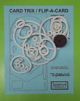 1970 Gottlieb Card Trix / Flip A Card Pinball Rubber Ring Kit