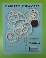 1970 Gottlieb Card Trix / Flip A Card Pinball Rubber Ring Kit