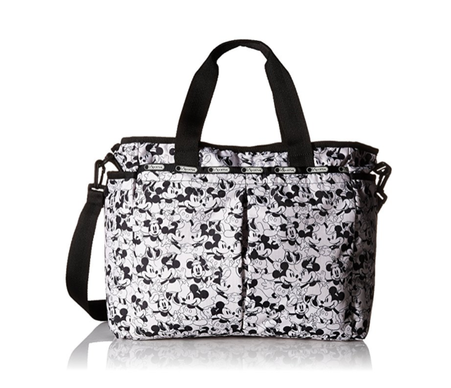 Lesportsac Ryan Baby Bag Mickey Loves Minnie Diaper With Changing Pad Nwt