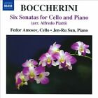 Boccherini: Six Sonatas for Cello and Piano (CD, Aug-2010, Naxos (Distributor))