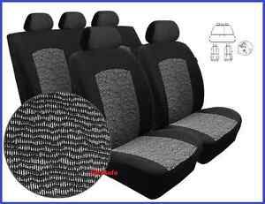 TAILORED SEAT COVERS FOR SKODA FABIA III  2014 on   FULL SET