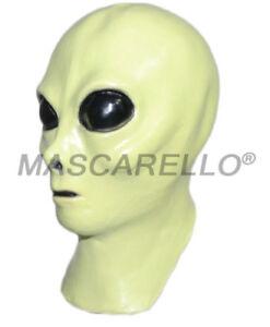 Image Is Loading Mascarello Latex Alien Mask Full Head Costume