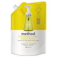 Method Foaming Hand Wash Refill Lemon Mint 28 Oz Pouch 6/carton 01365ct on sale