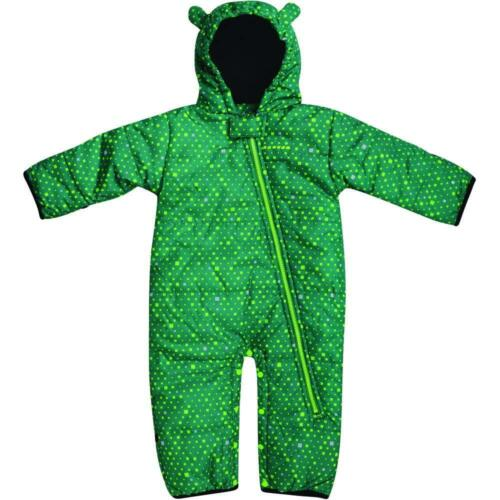 Dare2b Break the Ice Padded Insulated Kids Snowsuit  All-In-One  Nordic Green