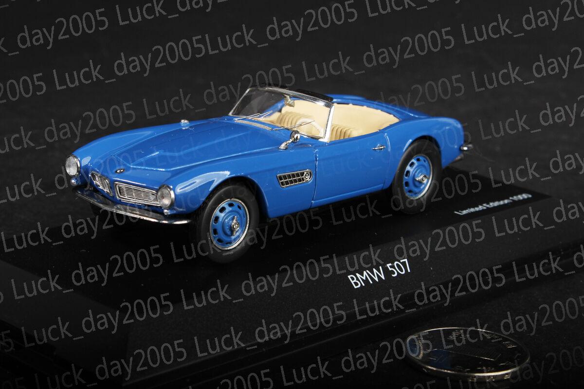 Schuco BMW 507 Roadster Azul Azul Azul 1 43 Diecast Modelo ca7003