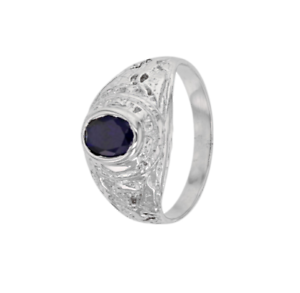 Bague-Chevaliere-Americaine-Army-Saphir-EN-OR-Blanc-9-CARATS-375-1000-T60-a-68