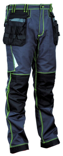 48104 Arbeitshose Leiria Kollektion Ergowear von Cofra anthrazit schwarz NEU