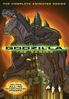 Godzilla Complete Animated Series Sealed 4 Dvd Set All 40 Episodes