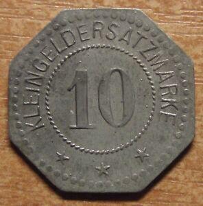 Germany-Notgeld-Token-Flensburg-10-pfennig-1917