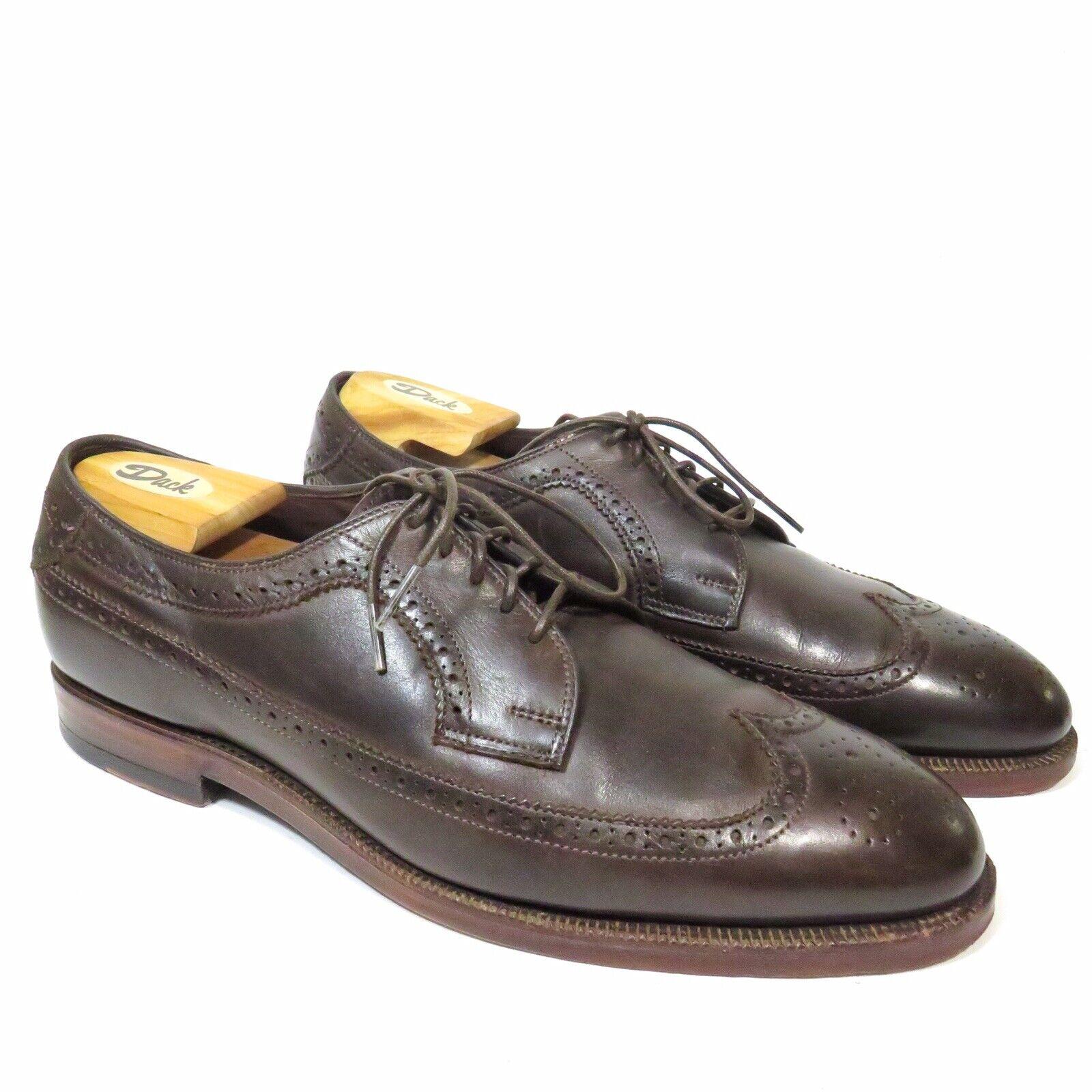 Allen Edmonds The  Williams Marronee Leather scarpe - Dimensione 12D - USA  vendita scontata