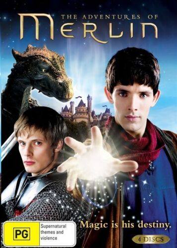 1 of 1 - The Adventures Of Merlin complete SEASON 1 Colin Morgan 4-disc new sealed