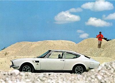 1971 Fiat Dino Coupe Bertone Automobile Photo Poster zua5243-JZLDHS