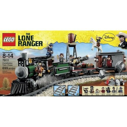 LEGO® The Lone Ranger Constitution Train Chase 79111