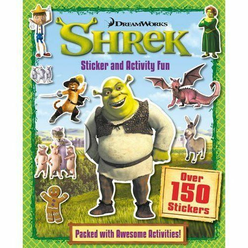 Shrek Sticker & Activity