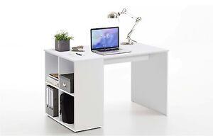Schreibtisch-Gent-Buerotisch-Arbeitstisch-Computertisch-4-Ablagefaecher-weiss