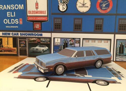 PAPERCRAFT 1977 Oldsmobile Custom Cruiser station wagon Paper ...