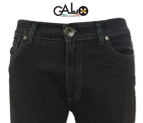 Vitamina Nero Modello Uomo Jeans Pu27 Elasticizzato wqY6UnRCRx