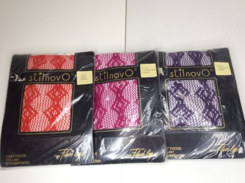 Lotto Sz Collant Nos M Hosiery Gambe per Fishnet Italia Vintage Stilnovo Flash wE7xqvIw