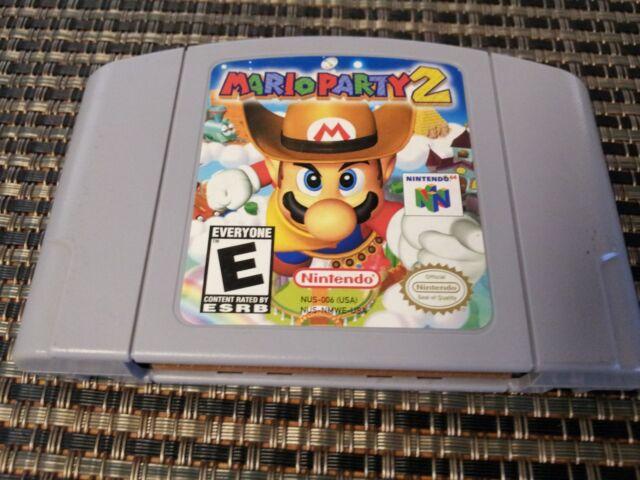 Mario Party 2 N64 (Nintendo 64 Spiel) Echte