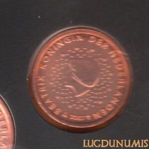 Pays Bas 2007 2 Centimes d'euro FDC BU Pièce neuve du coffret BU 40000 Exemplair
