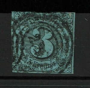 Thurn-and-Taxis-SC-48-Used-Hinge-Remnant-Noted-Mi-12-S3769