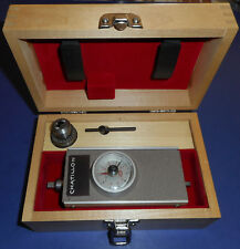 Chatillon Tg 10mrp Torque Gage 10 Ozin With Wood Box Chuck Amp Chuck Key