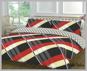 HARDY-PATTERNED-NEW-DUVET-PILLOW-CASE-CONTEMPORARY-CLASSIC-BEDDING-SET-ALL-SIZES