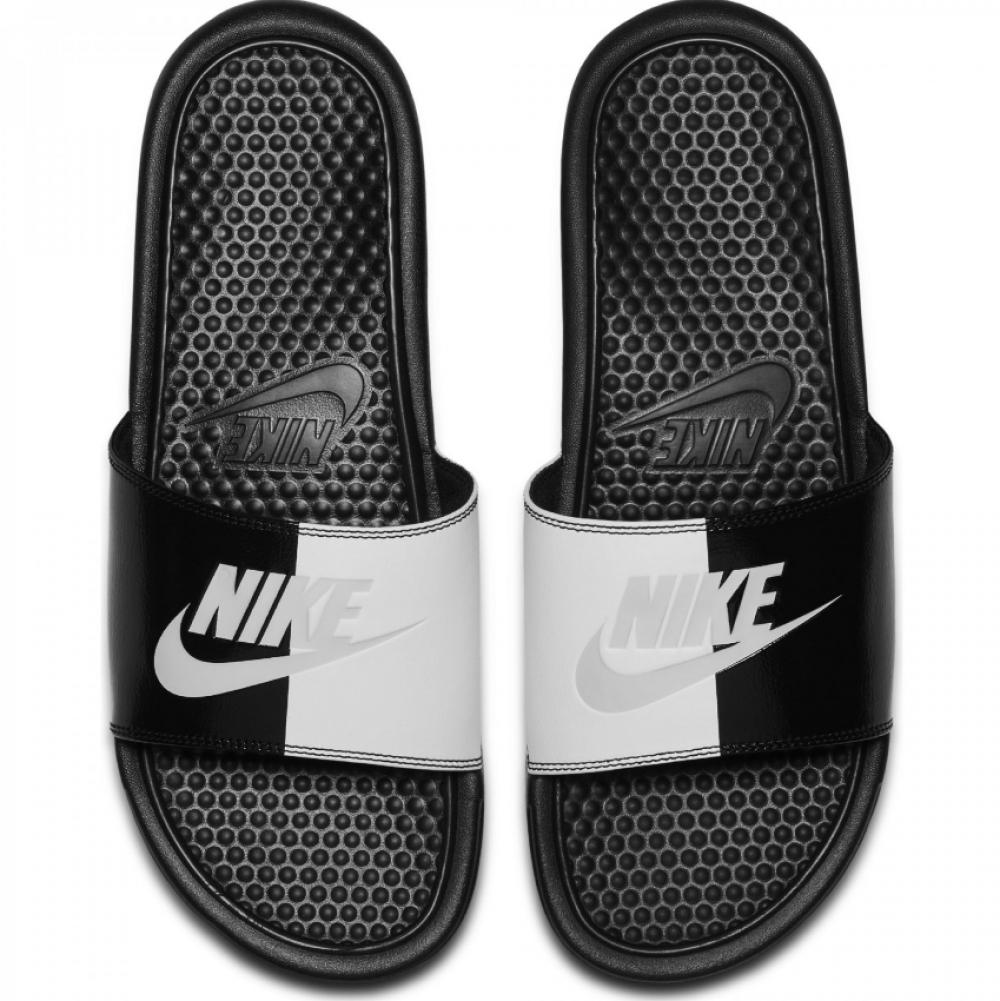 nike nike nike benassi jdi diapositive sandales glisseurs tongs pantoufles uk7-uk11 noire 27da08