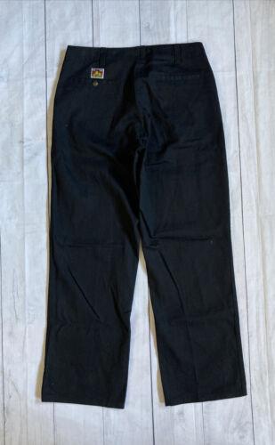 Vintage Ben Davis Black Work Pants Baggy Skate Chi