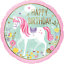 MAGICAL-UNICORN-Birthday-Party-Range-Tableware-Balloons-Supplies-Decorations miniatuur 20