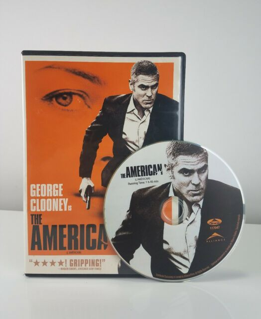 The American (DVD, 2010, Canadian) free shipping