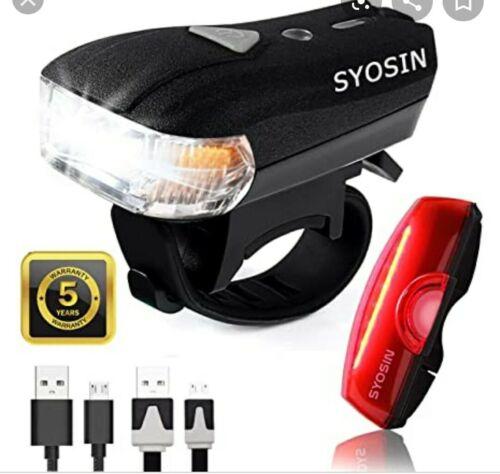 Vélo Lumière DEL USB Recharge