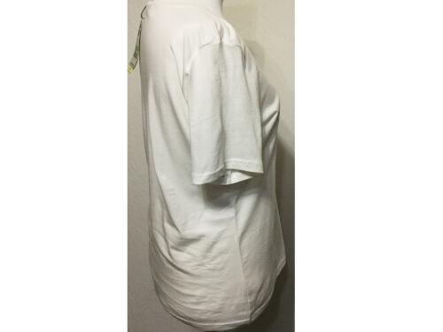 Tom Tailor Damen Shirt mit Print Statement Kurzarm Baumwolle offwhite Gr 3XL